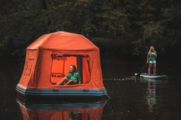 smithfly shoal tent camp on water