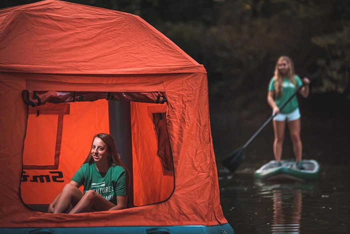 smithfly shoal tent camping on water