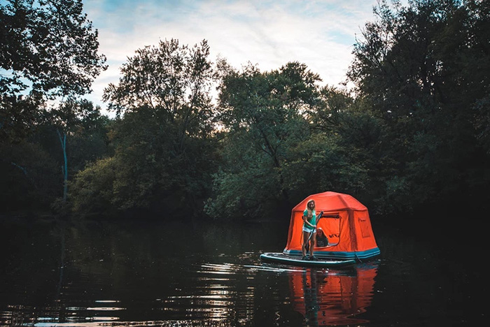 smithfly shoal tent on water
