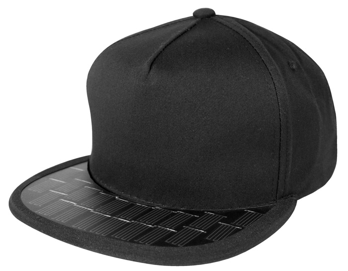 solsol solar charging hat black