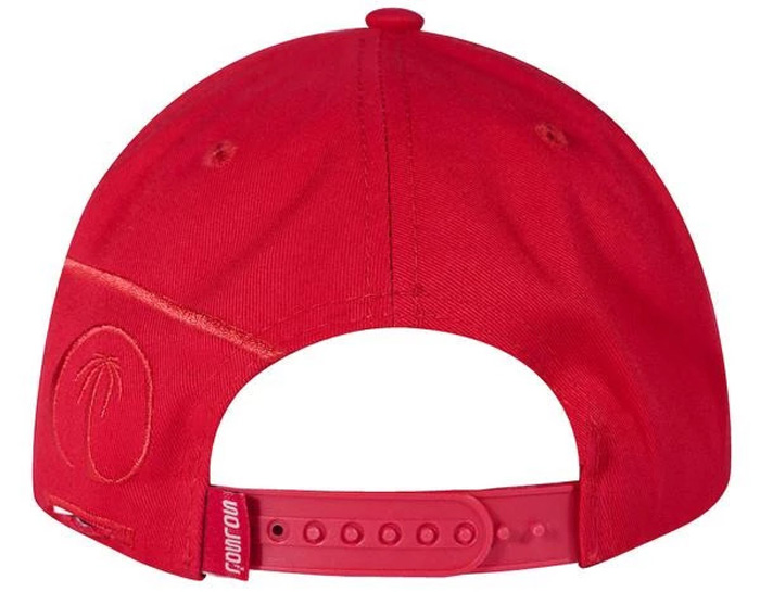 solsol solar charging hat red back