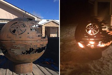 star wars deathstar firepit