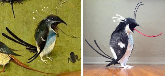 stunning strange bird 2d vs 3d bosch pinatas robert benavidez