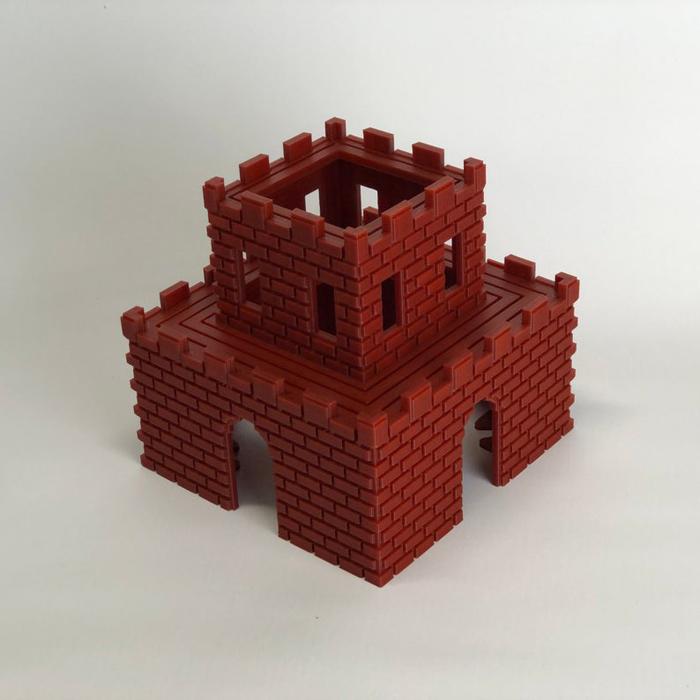 super mario aquarium katamco handmade castle 3d printed