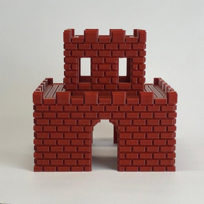 super mario aquarium katamco handmade castle