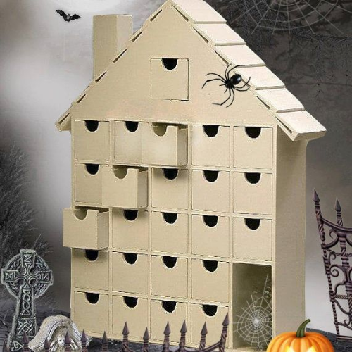 surprise box Halloween Advent calendars