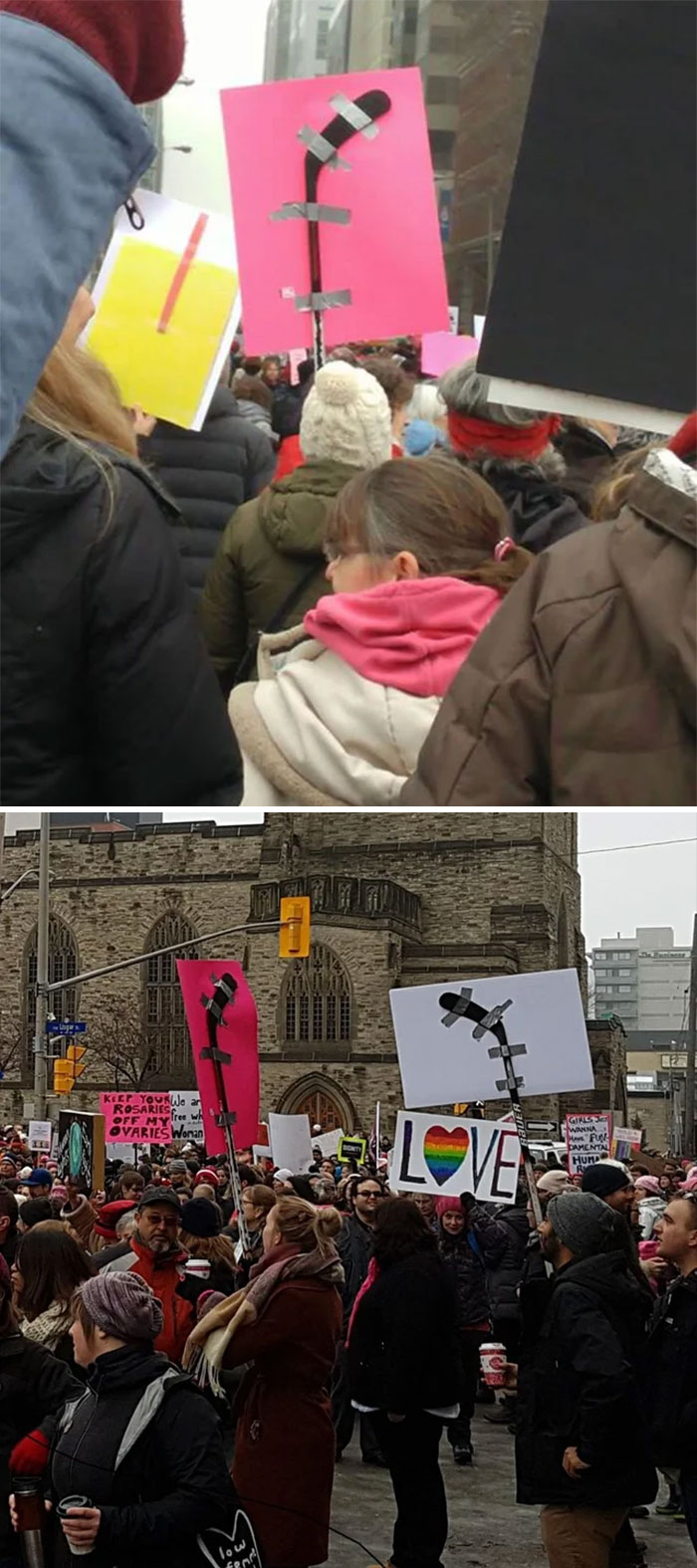 their kind of protest funny meanwhile in canada pictures