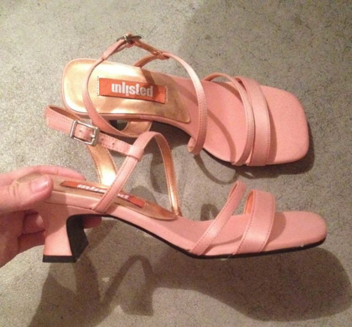 unlisted strappy heels shoe nostalgia