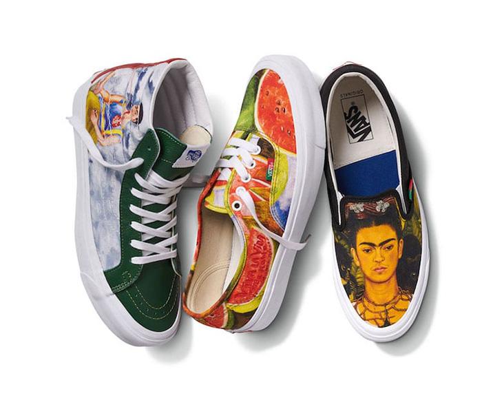 van frida kahlo inspired collection