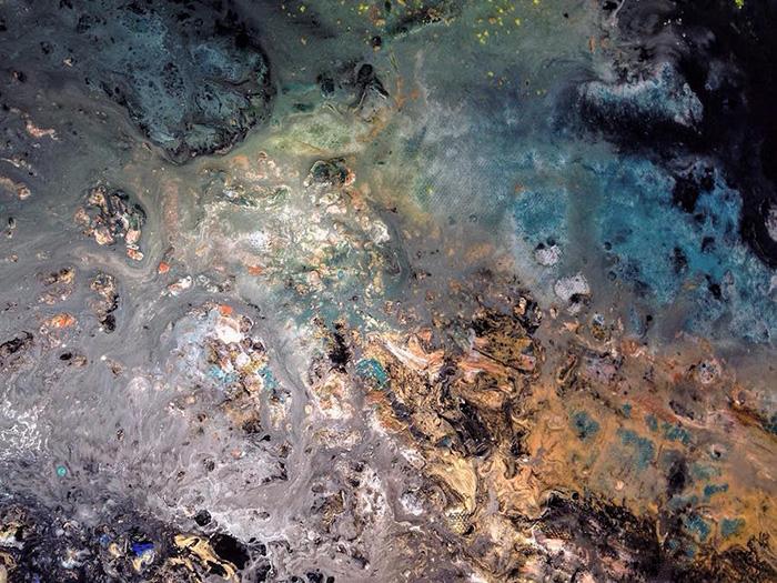 vanessa mae ocean waves paintings realistic