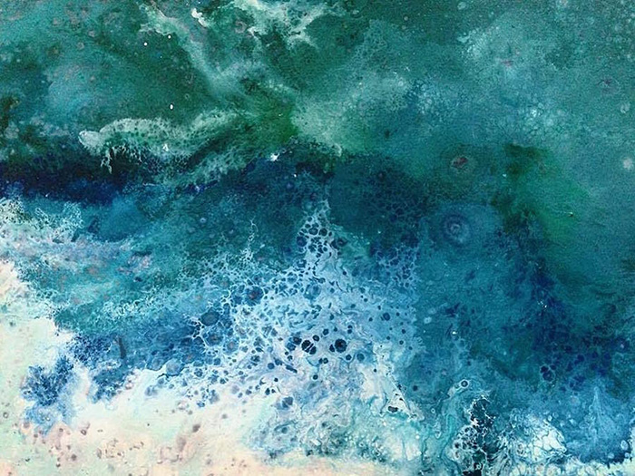vanessa mae ocean waves paintings sea foam