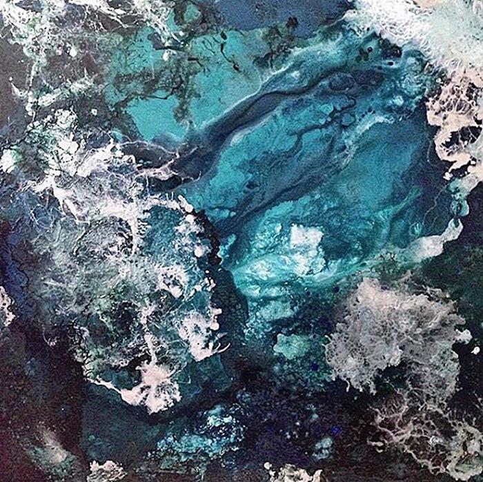 vanessa mae ocean waves paintings white sea foam