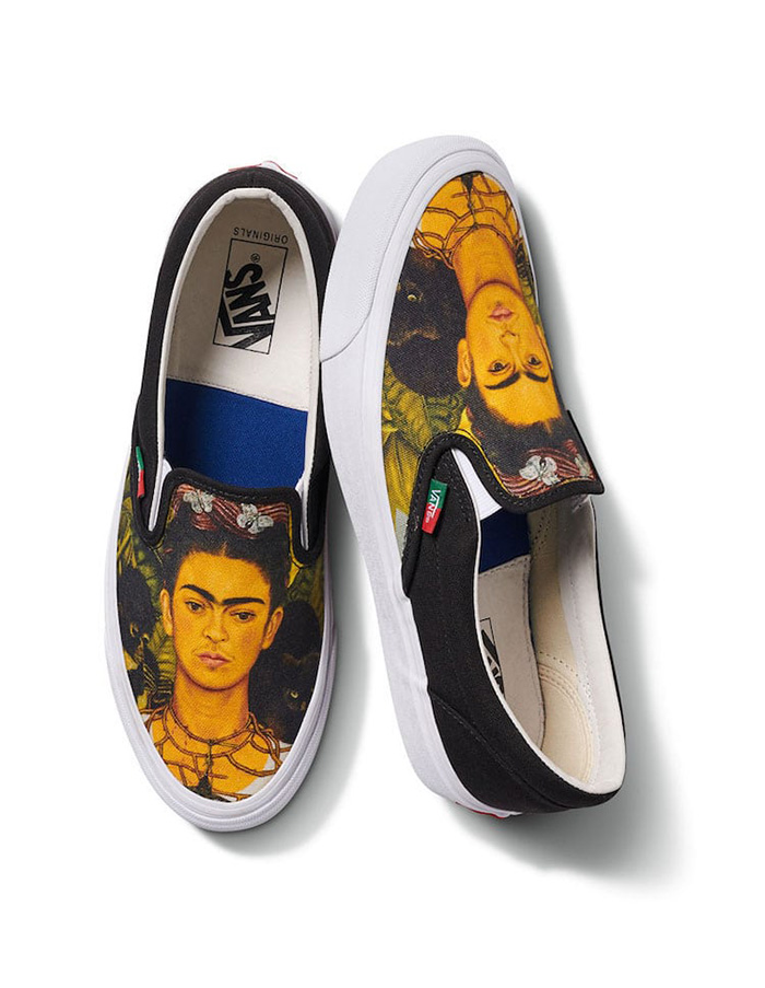 vault vans x frida kahlo collection self-portrait