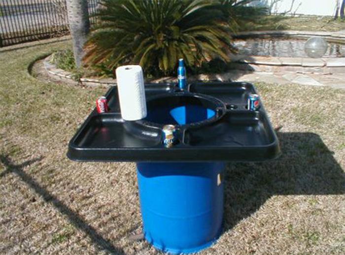 walmart crawfish table fits standard barrel