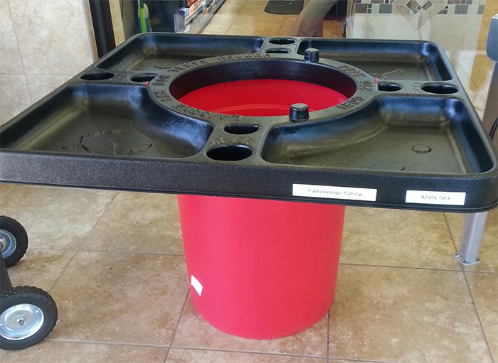 walmart crawfish table open top barrel