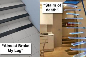 Bad stair designs