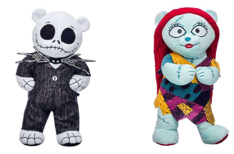 Build-A-Bear's Nightmare Before Christmas Collection