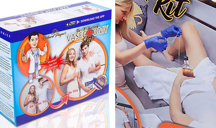 DIY Vasectomy Kit