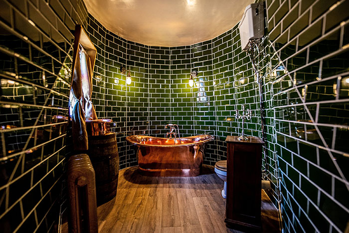 Hagrid's Hut Bathroom