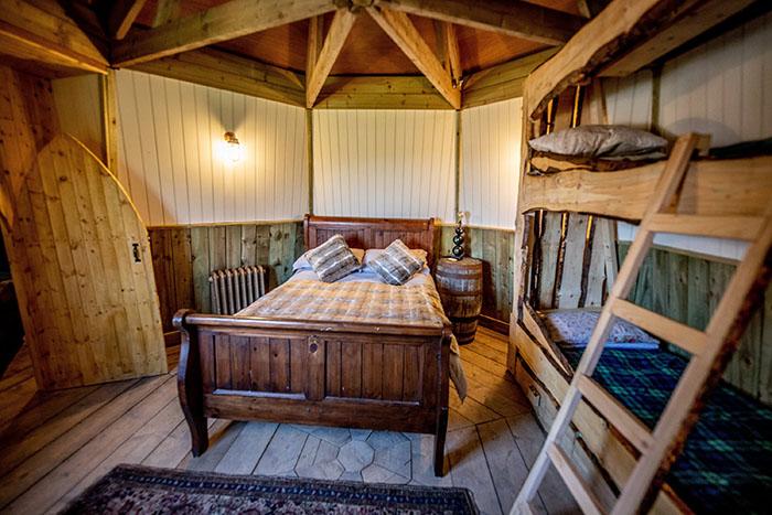 Hagrid's Hut Bedroom