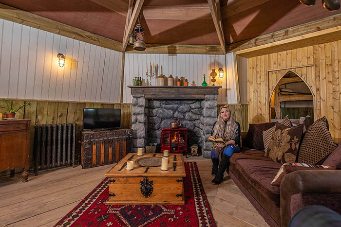 Hagrid's Hut Living Area