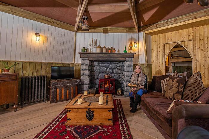 Hagrid's Hut Living Area