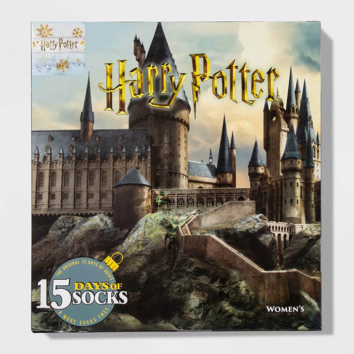 Harry Potter Castle Sock Advent Calendar
