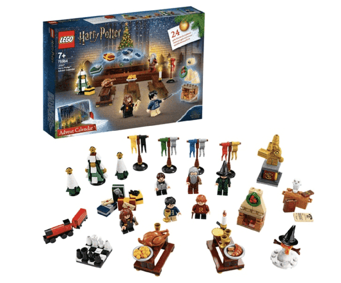 LEGO Harry Potter Advent Calendar Box and Toys
