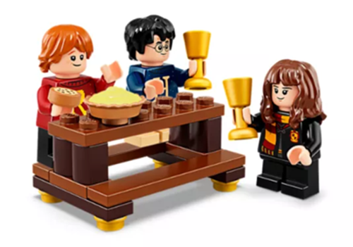 LEGO Harry Potter Advent Calendar Minfigs with Great Hall Table and Accessories