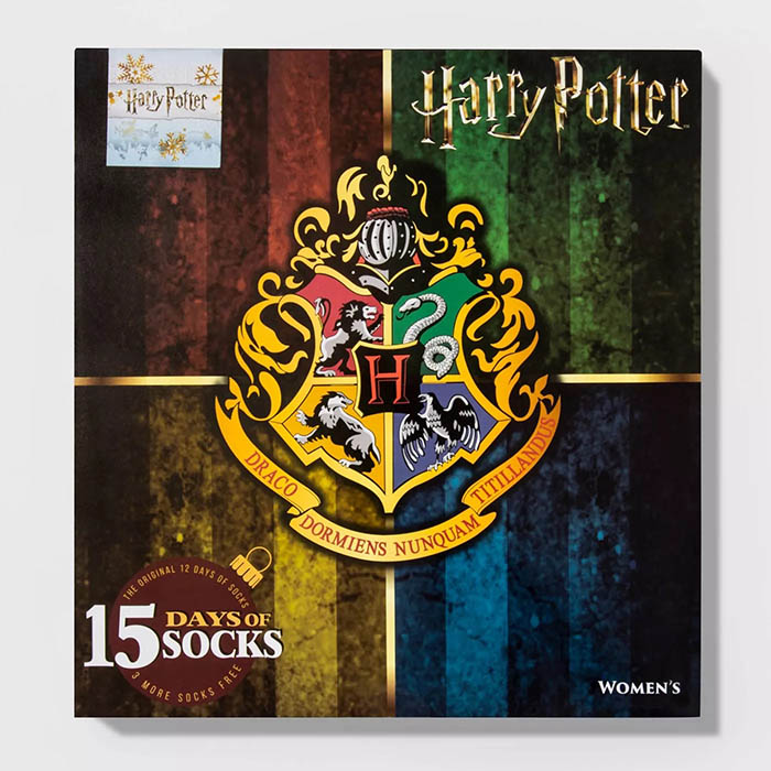 Harry Potter Sock Advent Calendar Crest