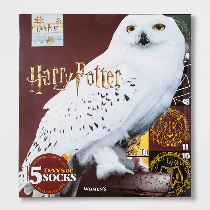 Harry Potter Sock Advent Calendar Owl