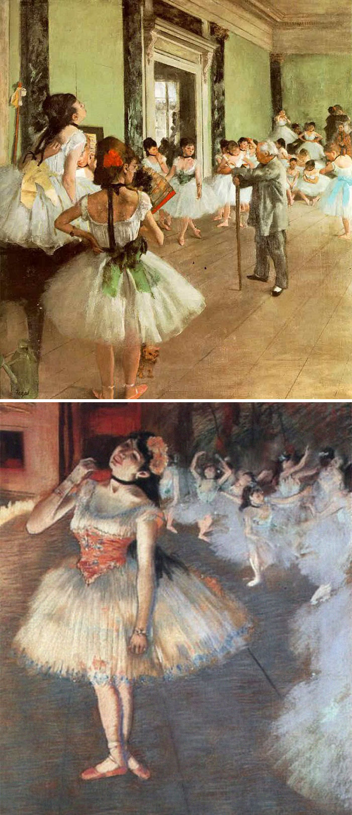 how to identify famous painters - degas