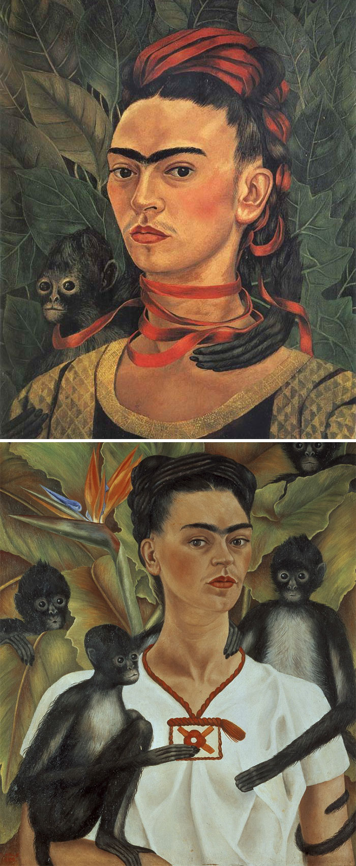 how to recognize famous painters- kahlo