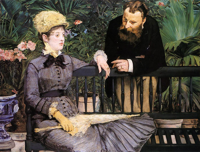 how to identify famous painters - manet
