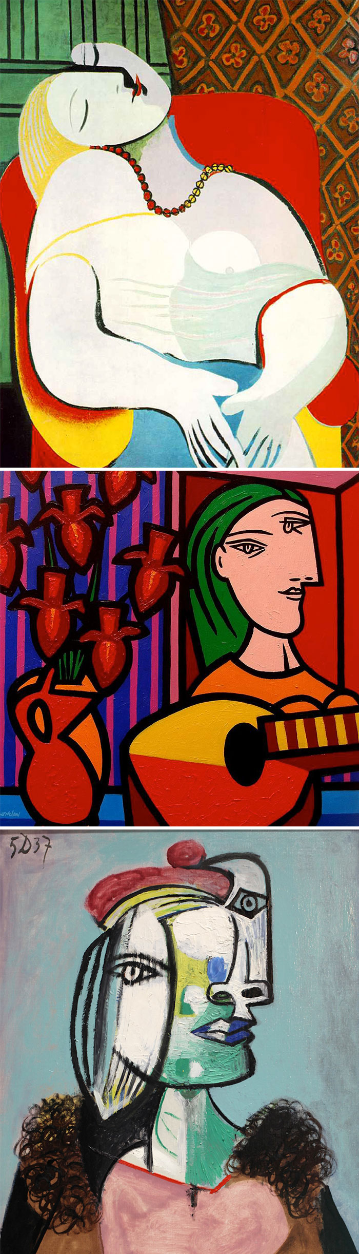 how to identify famous painters - picasso