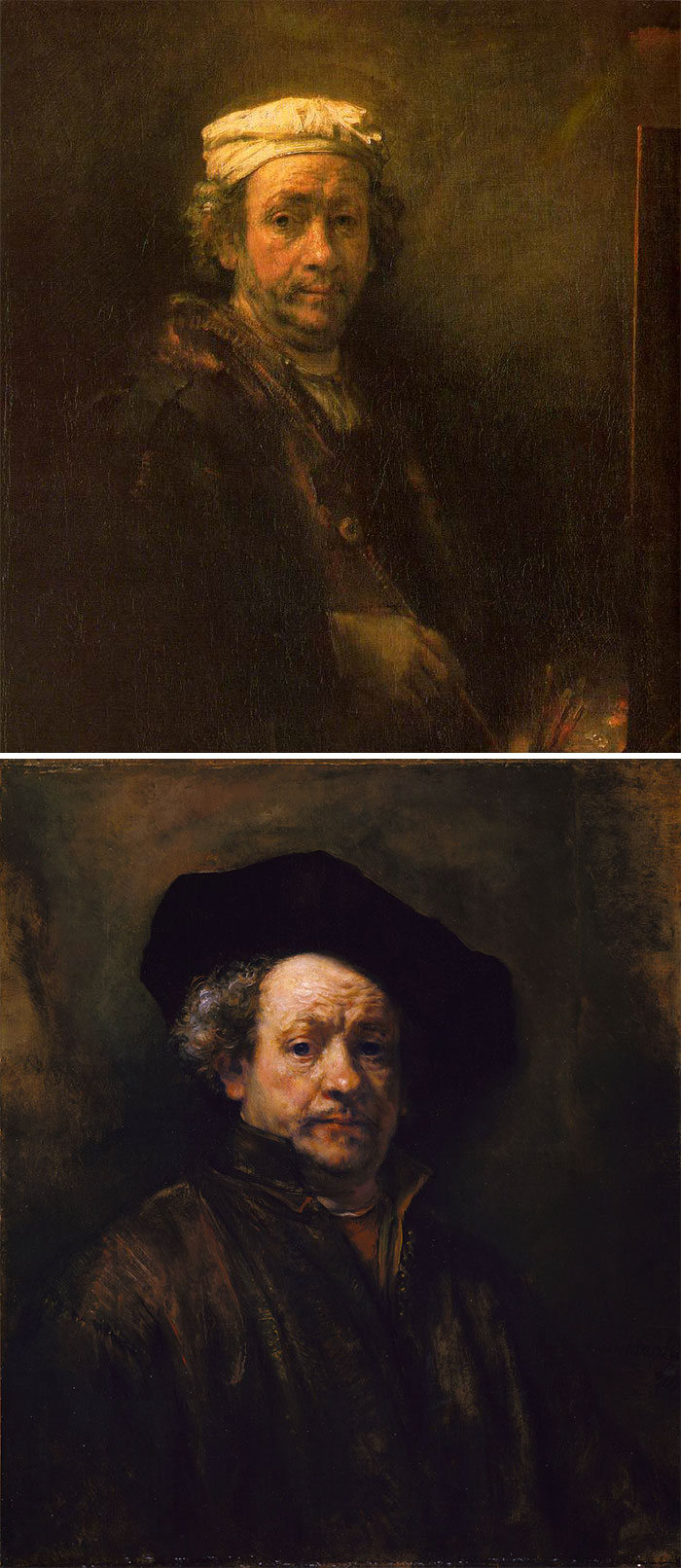 how to identify famous painters - rembrandt