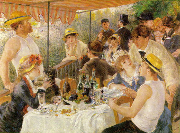 how to identify famous painters - renoir