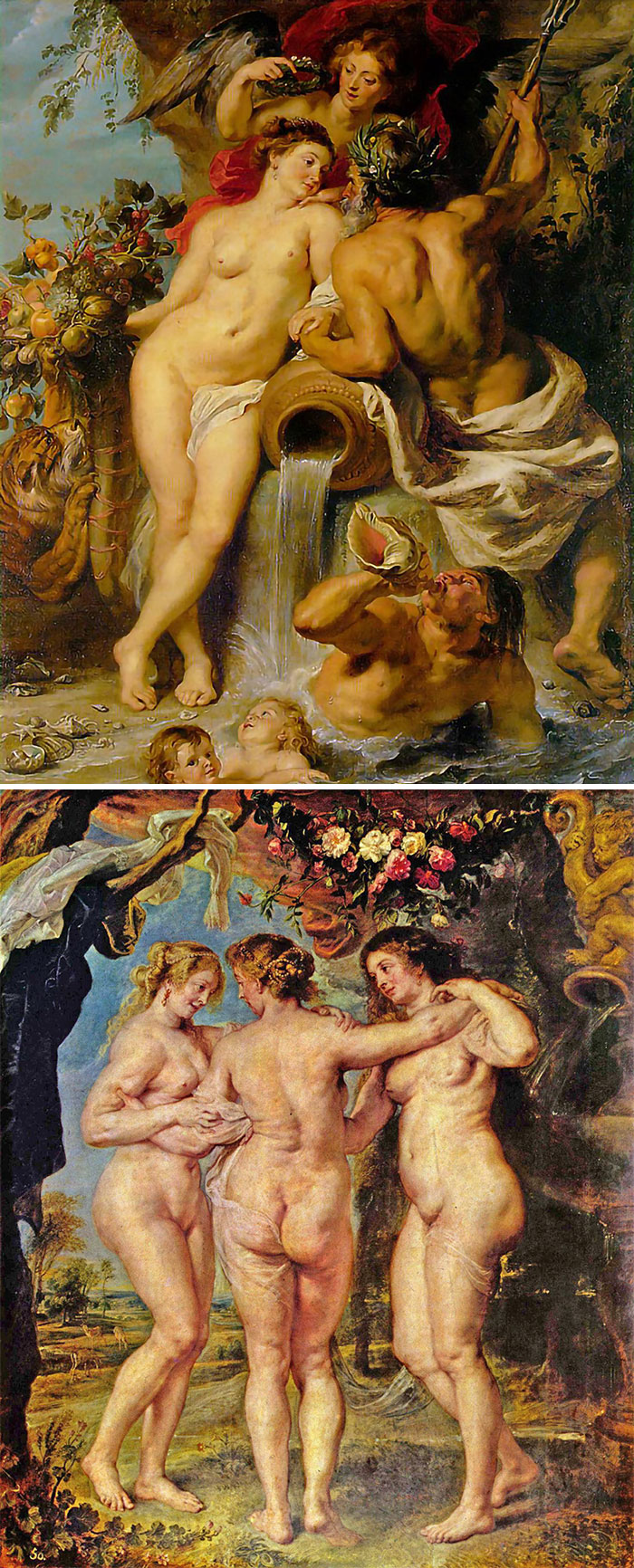 how to identify famous painters - rubens