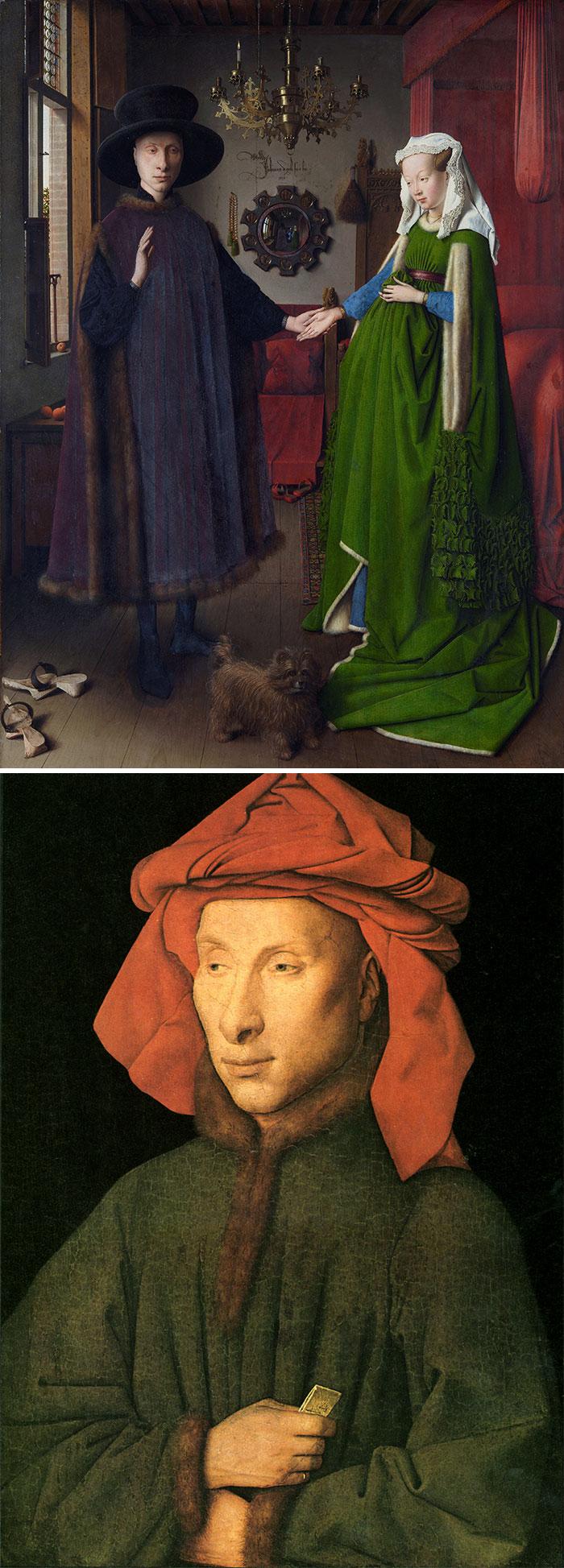How to identify famous painters - Van Eyck