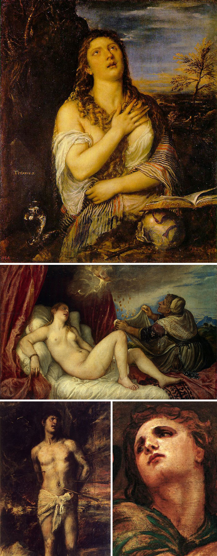 how to identify famous painters - titian