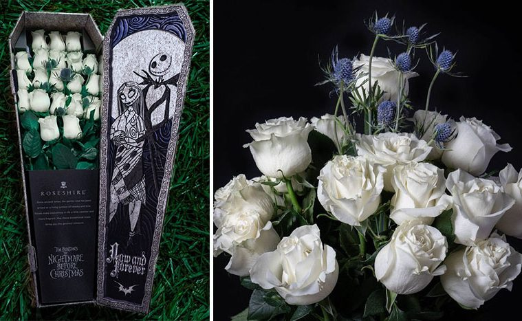 Nightmare Before Christmas Rose Bouquet
