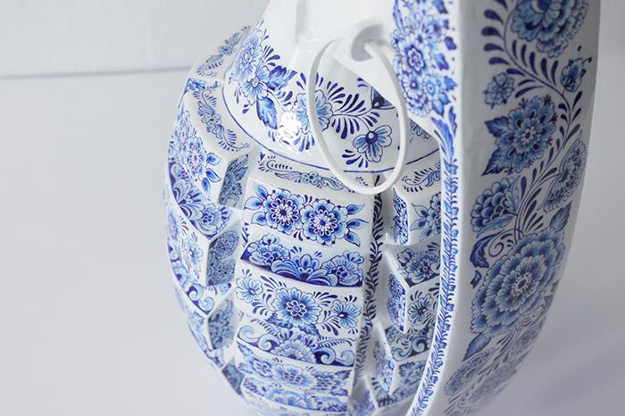 Porcelain Weapon Grenade details