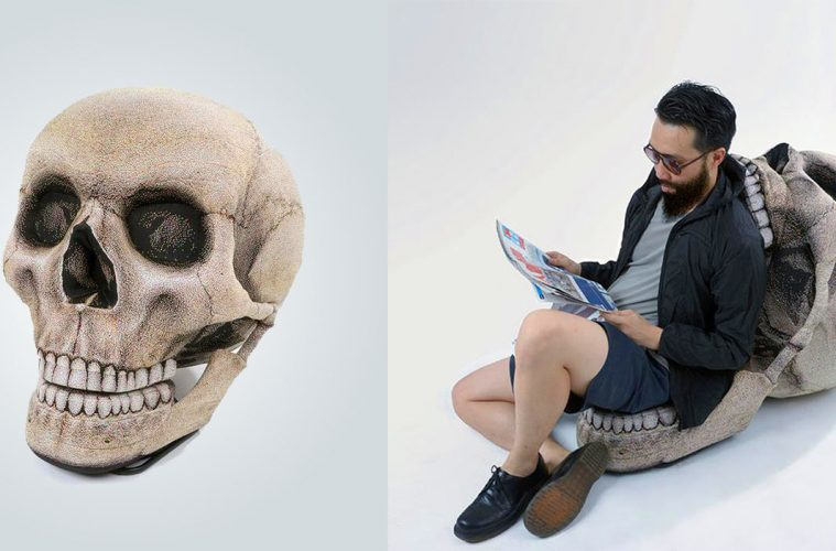 Skull Bean Bag Chair