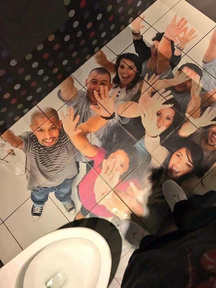 Weirdest Toilet Floor