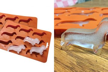 Wiener Dog Ice Cube Mold
