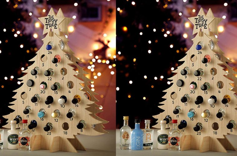 Wine Advent Calendar Tipsy Tree