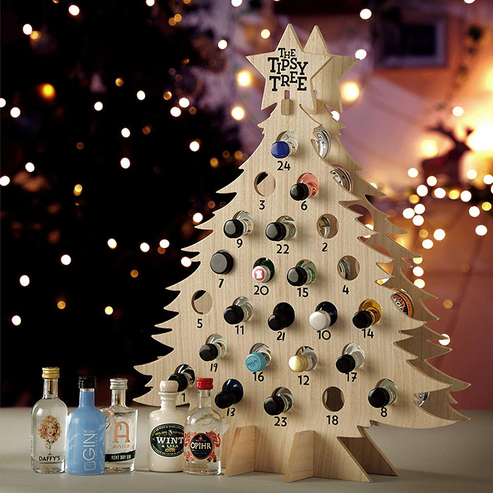 Wine Advent Tipsy Tree