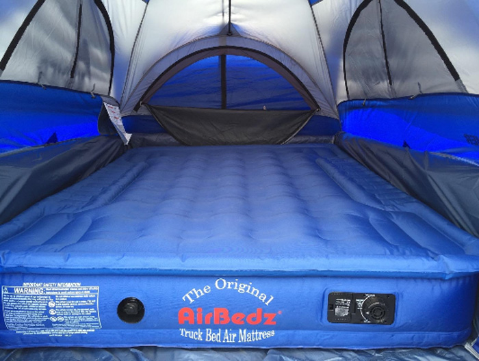 airbedz truck bed air mattress camping