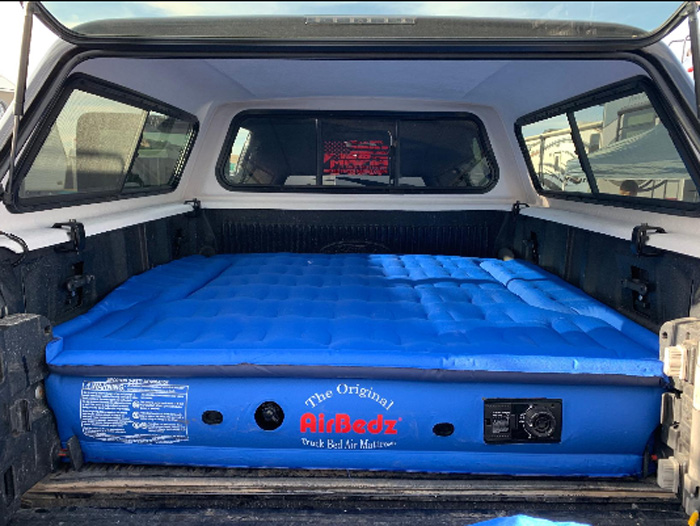 airbedz truck bed air mattress customer photo