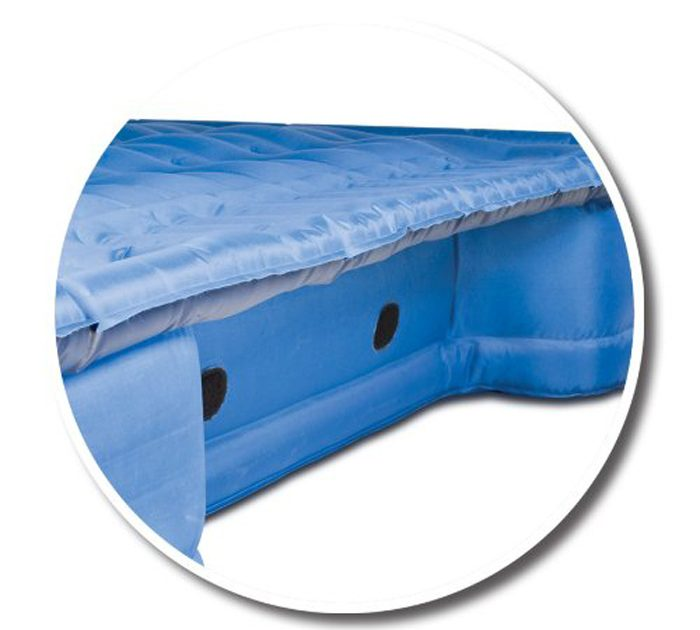 airbedz truck bed air mattress side detail